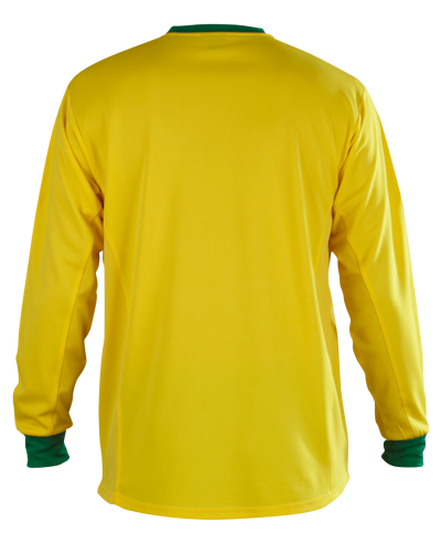 Lazio Football Shirt Yellow/Green