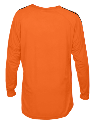 New Napoli Football Shirt Tangerine/Black