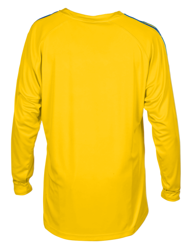 New Napoli Football Shirt Yellow/Royal