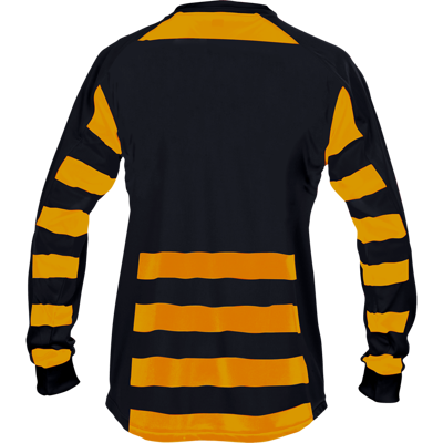Parma Football Shirt  Black/Amber