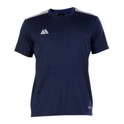 Tempo Football Shirt Navy/White