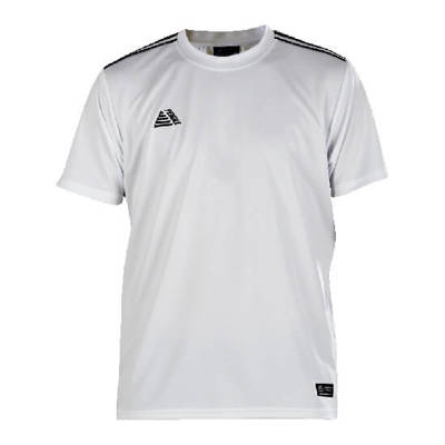 Tempo Football Shirt White/Black