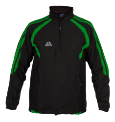 Torino Rainsuit Top Black/Green