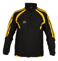 Torino Rainsuit Top Black/Yellow