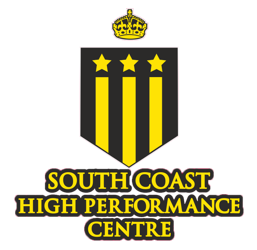 South Coast High Performance Centre badge