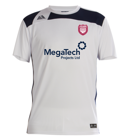 Arbroath Away Shirt 2019/2020  White/Navy
