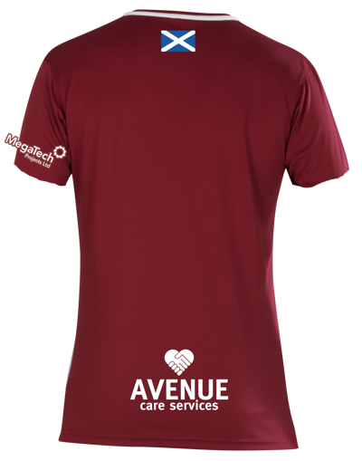 Arbroath Home Shirt 2020/2021  Maroon/White