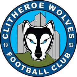 Clitheroe Wolves FC badge