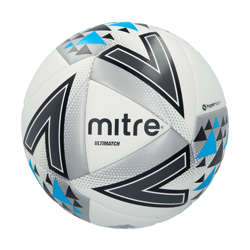 Mitre Ultimatch Hyperseam White Match Football Mitre Ultimatch Hyperseam White Match Football