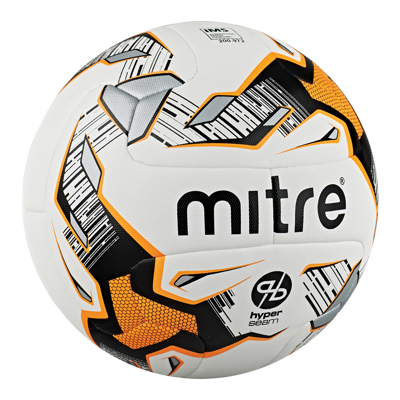 Mitre Ultimatch Hyperseam White Match Football
