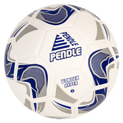 Pendle Vortex Hyper - White Match Football Premium Quality Club Match Ball