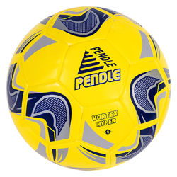 Pendle Vortex Hyper - Yellow Match Football Premium Quality Club Match Ball