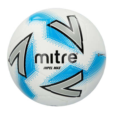 Mitre Impel Max White Training Football
