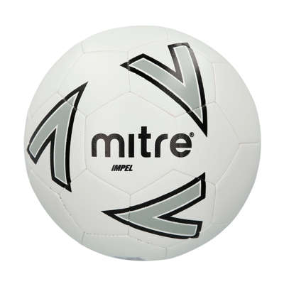 Mitre Impel Training Football - White