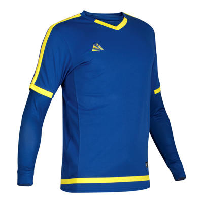 Rio Shirt & Baselayer Set Royal/Yellow