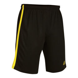 Vega Football Shorts Black/Yellow