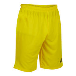 Astra Football Shorts Yellow