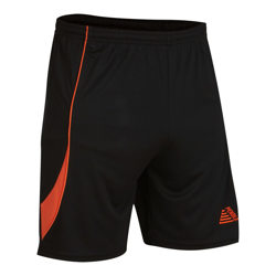 Nova Football Shorts Black/Tangerine
