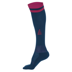 Liga Football Socks Blue/Claret