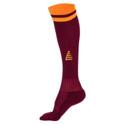 Liga Football Socks Maroon/Amber