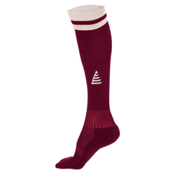 Liga Football Socks Maroon/White