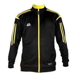 Atlanta Fitted Tracksuit Top Black/Yellow