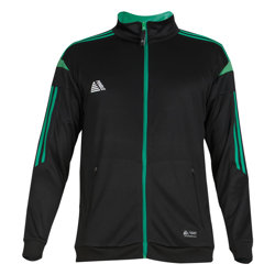 Atlanta Fitted Tracksuit Black/Green