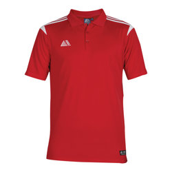 Atlanta Fitted Polo Shirt Red/White