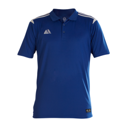 Atlanta Fitted Polo Shirt Royal/White