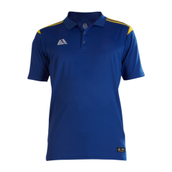 Atlanta Fitted Polo Shirt Royal/Yellow