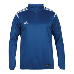 Atlanta Quarter Zip Top Royal/White