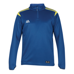 Atlanta Quarter Zip Top Royal/Yellow