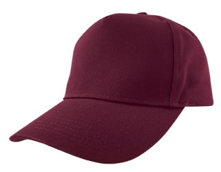 Baseball Cap (Embroidered) Maroon