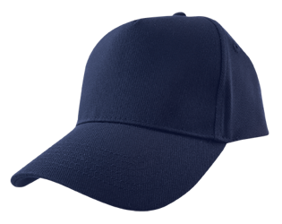 Baseball Cap (Embroidered) Navy