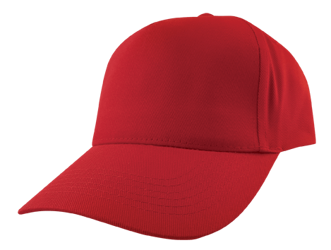Baseball Cap (Embroidered) Red