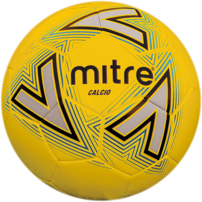 Mitre Calcio Training Football - Yellow