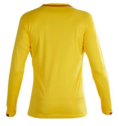 Kiev Football Shirt Yellow/Red