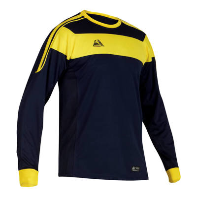 Lazio Football Shirt Navy/Yellow