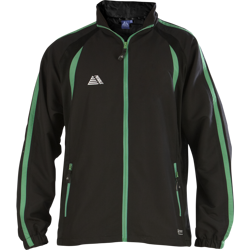 Lyon Tracksuit Top Black/Green