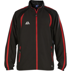 Lyon Tracksuit Top Black/Red