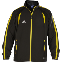 Lyon Tracksuit Top Black/Yellow