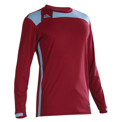 Malmo Football Shirt Maroon/Sky
