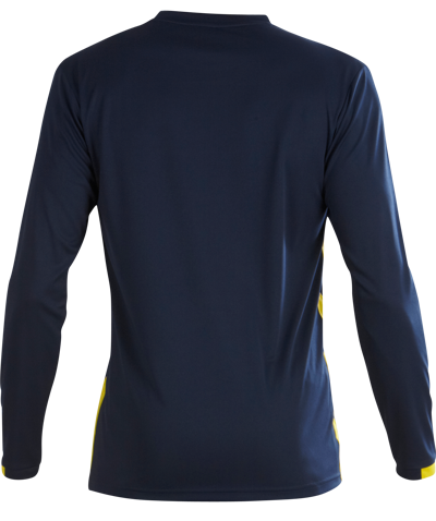 Malmo Football Shirt Navy/Yellow