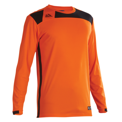 Malmo Football Shirt Tangerine/Black