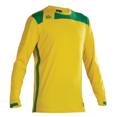 Malmo Football Shirt Yellow/Green