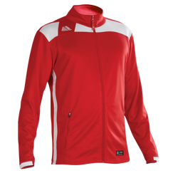 Malmo Fitted Tracksuit Top Red/White