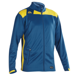 Malmo Fitted Tracksuit Top Royal/Yellow