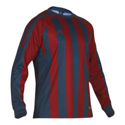 Milano Football Shirt Blue/Claret