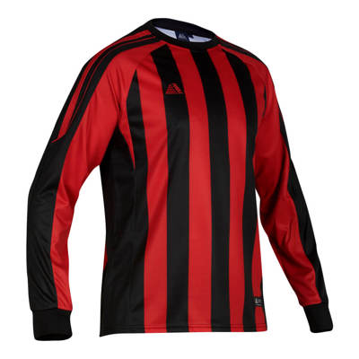 Milano Football Shirt Black/Red
