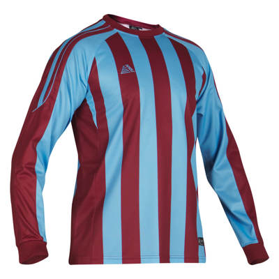 Milano Football Shirt Maroon/Sky